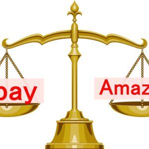 ebayとアマゾンを比較 初心者におすすめ稼ぎやすいのはどっち?最新情報